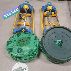2pcs Topsy-turvy And 2 Pcs Garden Sprinkler for Sale in Las Vegas, NV
