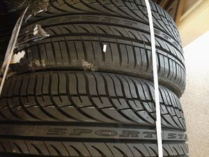 Full way tires 225-30-20 for Sale in Madison Heights, VA