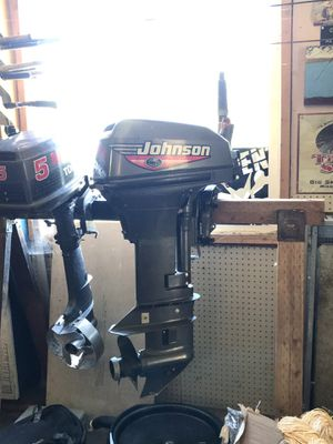 1999 Johnson 15hp outboard motor for Sale in North Bend, WA
