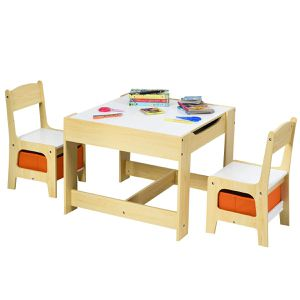 Children Activity Table Desk Sets w/Storage Drawer for Sale in Beaumont, CA