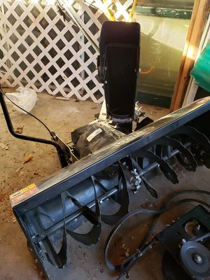 42 inch Craftsman Snowblower plus attachments for Sale in Monroe, ME