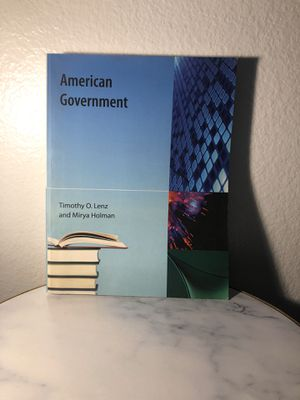 American Government Textbook for Sale in Spring Valley, CA