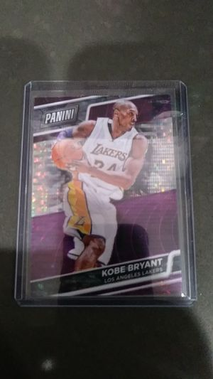 Kobe Bryant Panini card#1 for Sale in Montebello, CA