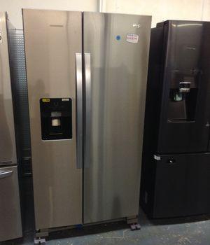 New Whirlpool stainless steel refrigerator 2 doors w/warranty for Sale in Longwood, FL