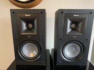 Klipsch ICON KB15 bookshelf speakers for Sale in Little Elm, TX