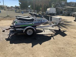 (1 )1992 seadoo (1) 1992 bombardie and trailer for Sale in Norco, CA