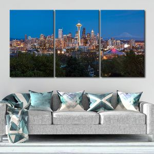 Seattle Skyline Canvas Wall Art Prices Start at $79.94🔥Get It Here 👉StunningCanvasPrints,com👈 for Sale in Seattle, WA