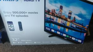 32 smart TV used 1 week for Sale in Elmira, NY
