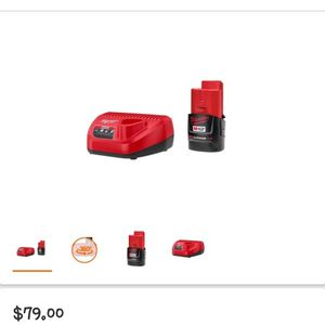 Milwaukee M12 Starter Kit for Sale in West Palm Beach, FL