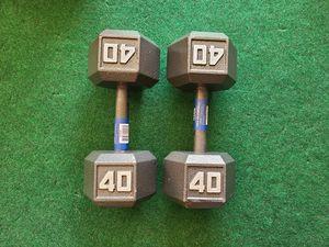 40lb Dumbells New for Sale in Garden Grove, CA
