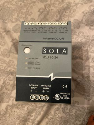 SOLA Industrial DC UPS :SDU 10-24 for Sale in Kansas City, MO