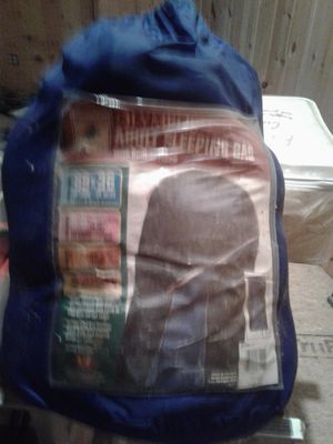 Large adult Sleeping bag. Never been used for Sale in Canton, GA