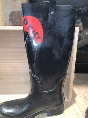 DKNY Rain boots (8) for Sale in Salt Lake City, UT