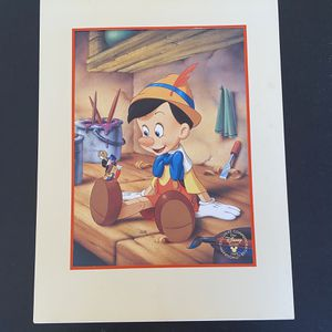 Disney's Pinocchio Lithograph for Sale in Winder, GA