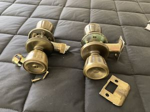 Brass bath/bedroom door knobs for Sale in Fresno, CA