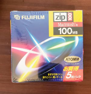 Fuji film 100 MB Zip disk for Sale in West Bloomfield Township, MI