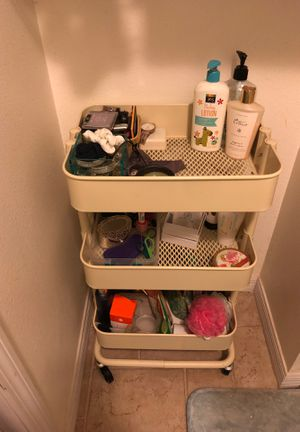 Toiletries/supplies organizational cart for Sale in Tampa, FL