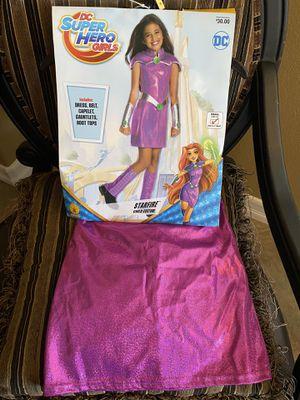 Starfire costume .DC SuperHero Girl. Brand New size small 4-6. $10 for Sale in Fontana, CA