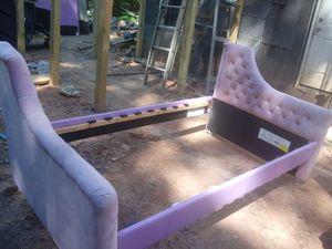Plush pink twin bed for Sale in Morrow, GA