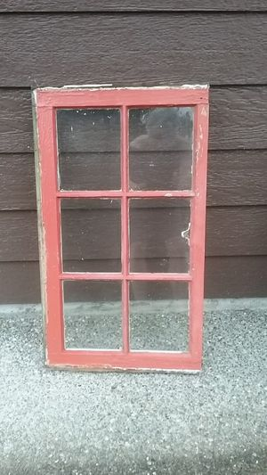 Vintage wood window for Sale in Snohomish, WA
