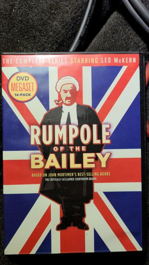 Rumpole of the Bailey DVD megaset 14-pack for Sale in Tacoma, WA