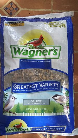 Wagner's Greatest Variety Birds Food for Sale in Washington, DC