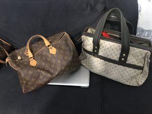 2 authentic Louis Vuitton bags for Sale in Plant City, FL