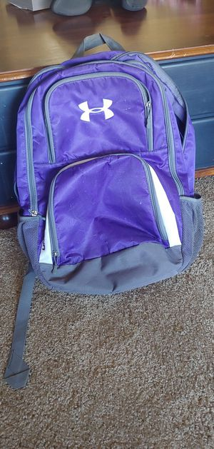 Purple Under Armour Backpack for Sale in Bexley, OH