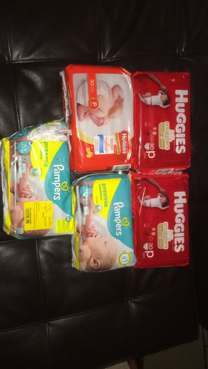 Preemie diapers for Sale in Plainfield, IL