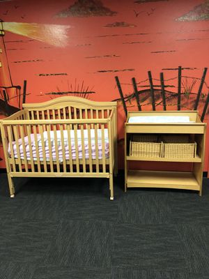 Crib and changing table for Sale in Castro Valley, CA