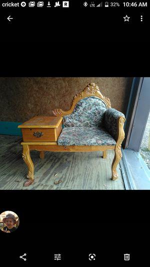Antique Telephone Table for Sale in Harrisburg, AR