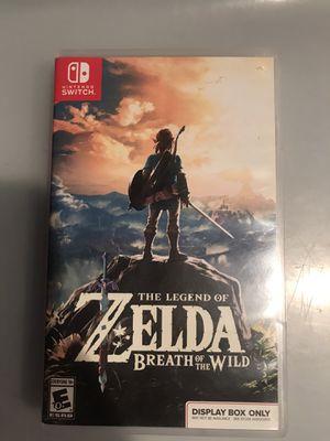 Legend of Zelda: Breath of the Wild for Sale in Irvine, CA