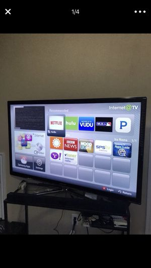 55 in Samsung 7 series 3D Smart TV for Sale in Salt Lake City, UT