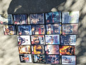 22 DVD movies in excellent condition selling as a lot of 22 $40 for Sale in Fresno, CA
