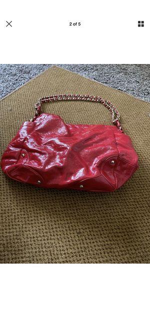 Shoulder bag,Leather Co by Liz Claiborne, Red, Medium for Sale in Des Moines, IA