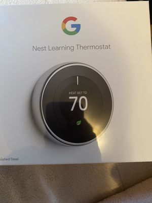 Nest thermostat(3rd generation) for Sale in New York, NY