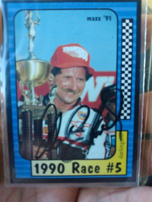 Dale Earnhardt Sr card lot with autograph for Sale in US