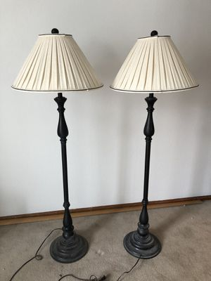 Two Floor Lamps for Sale in Littleton, CO