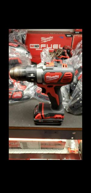 MILWAUKEE M18 DRILL USED TOOL ONLY NO BATTERY NO CHARGER for Sale in San Bernardino, CA
