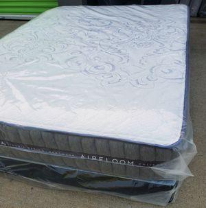 "Regular queen set mattress aireloom 11""thick for Sale in Fontana, CA"