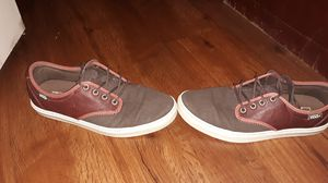 VANS, LEATHER BROWN...size 8 women... for Sale in Ponchatoula, LA