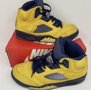 Jordan 5 Michigan for Sale in Charlottesville, VA