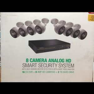 8 Camera Analog HD Smart Security System for Sale in San Francisco, CA