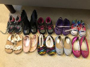 Assorted girls shoes and boots size 9-11 for Sale in Bellevue, WA