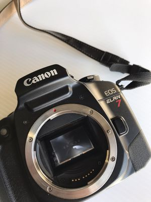 Canon elan 7 film camera for Sale in Upland, CA