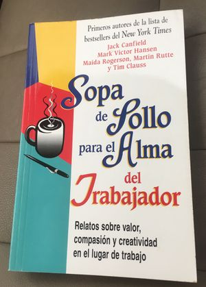 Sopa de Pollo para el Trabajador Paperback for Sale in Miami, FL