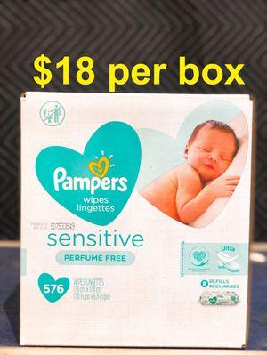 Pamper wipes for Sale in Norwalk, CA