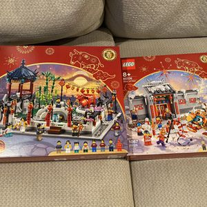 LEGO Spring Festival 80106 and 80107 for Sale in El Segundo, CA