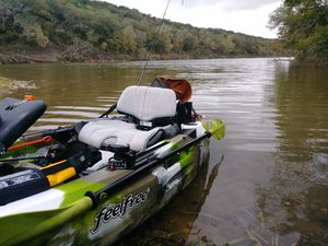 KAYAK - Feelfree Lure 10 Ready To Fish Package Deal! for Sale in DeSoto, TX