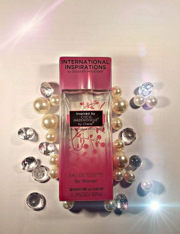 Perfume for women and men , international inspirations set de 4 perfumes
